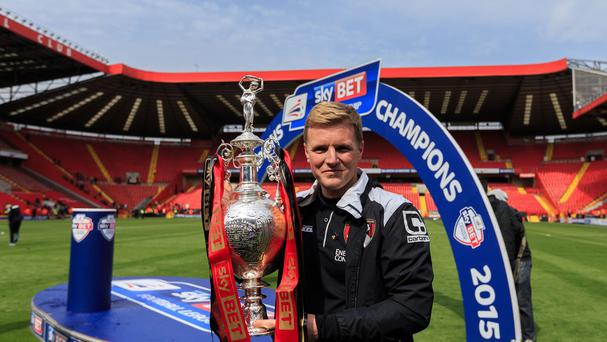 Eddie Howe is planning Bournemouth's first season in the Premier League