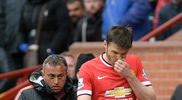 Michael Carrick is fit again after suffering a series of injuries last season