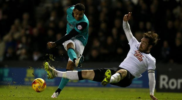 Josh King, left, had penned a three-year deal at Bournemouth in May