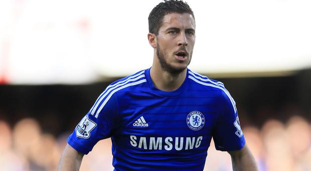 Eden Hazard scored a brilliant first-half goal