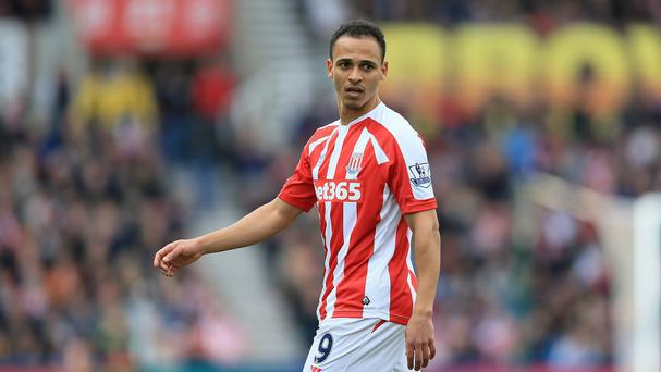 Peter Odemwingie is working his way back to peak fitness for Stoke City