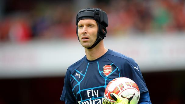 Petr Cech will come up against his former club on Sunday
