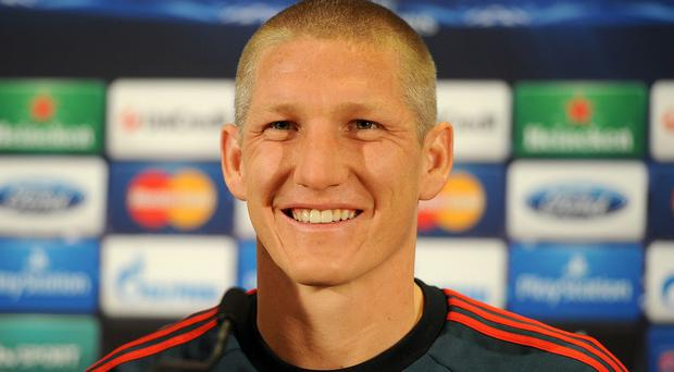 Bastian Schweinsteiger completed his switch to Manchester United last month
