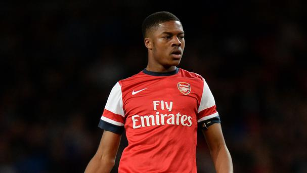 Chuba Akpom has joined Arsenal team-mate Isaac Hayden on loan at Hull