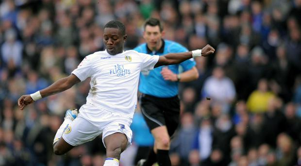 Max Gradel, pictured playing for Leeds, has now returned to England to play for Bournemouth