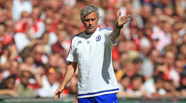 Chelsea manager Jose Mourinho is weighing up his options at left-back