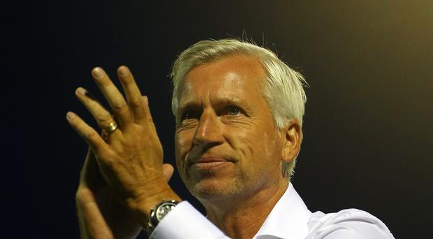 Alan Pardew is enjoying life as Crystal Palace manager