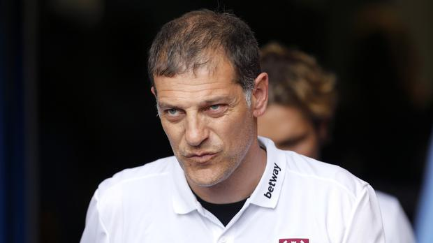 Slaven Bilic was pleased with his young players despite the defeat