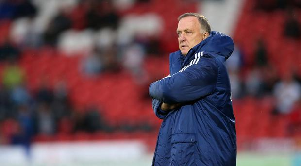 Sunderland manager Dick Advocaat is happy to see players competing for positions