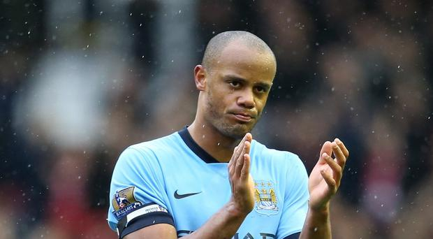 Manchester City manager Manuel Pellegrini retains faith in his captain Vincent Kompany