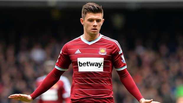 Aaron Cresswell was named West Ham's player of the season last year