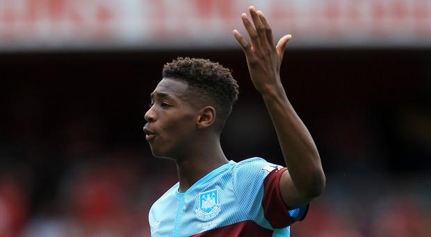 Sixteen-year-old Reece Oxford became the Premier League's seventh youngest player when he lined up against Arsenal