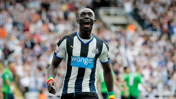 Newcastle striker Papiss Cisse is ignoring transfer speculation