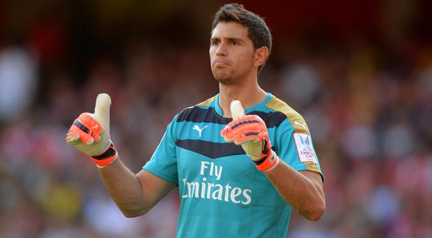 Arsenal goalkeeper Emiliano Martinez is set to join Championship side Wolves on loan