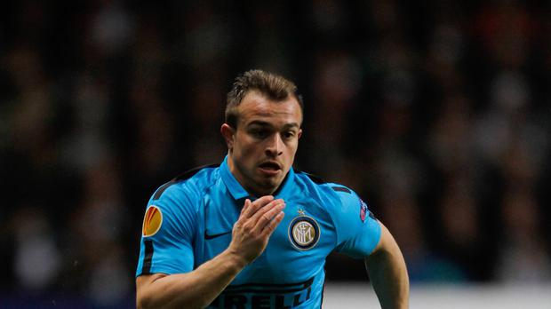 Xherdan Shaqiri has moved to Stoke from Inter Milan