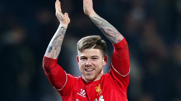 Alberto Moreno is looking to fight his way back into the team.