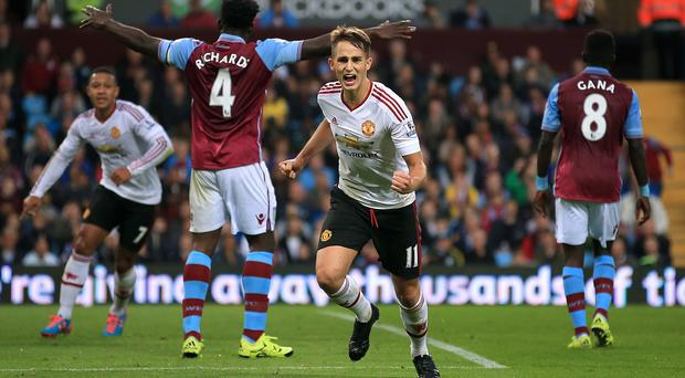 Adnan Januzaj scored the game's only goal