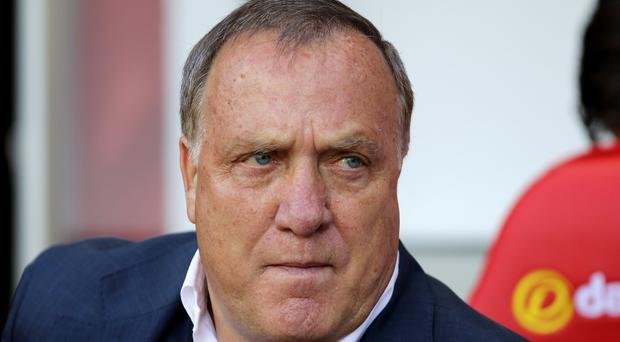 Sunderland head coach Dick Advocaat has admitted there is