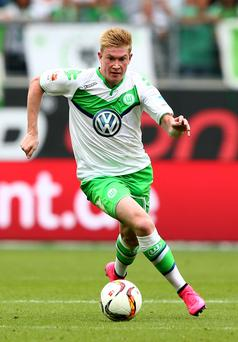 Kevin De Bruyne seems to be staying at Wolfsburg