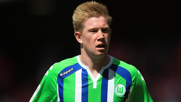 Kevin De Bruyne could be on the move from Wolfsburg
