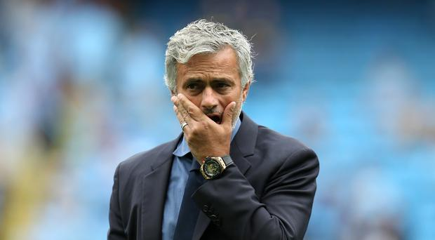 Jose Mourinho will be aiming to avoid a third straight defeat to a team managed by Tony Pulis on Sunday