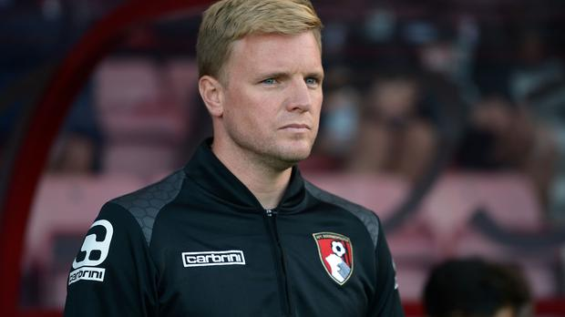 Eddie Howe was disappointed with the refereeing during Bournemouth's defeat by Liverpool