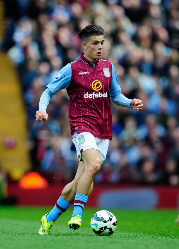 In contention: Jack Grealish has recovered from injury