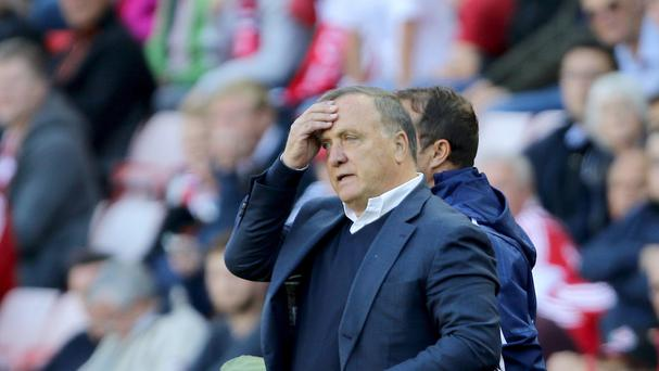 Sunderland manager Dick Advocaat was unimpressed by comments made by former player Michael Gray