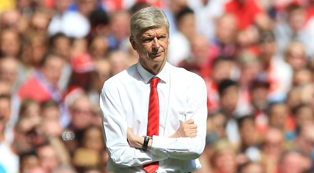 Arsenal manager Arsene Wenger is expecting a response for the home game against Liverpool on Monday night.
