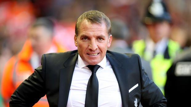 Brendan Rodgers saw Liverpool benefit from a controversial call on Monday
