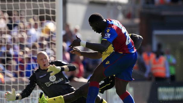 Crystal Palace's Bakary Sako scored a late winner against Aston Villa