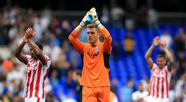 Jack Butland was the star of the show as Stoke drew at Norwich