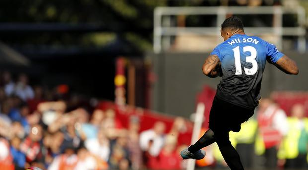 Bournemouth's Callum Wilson scored a hat-trick against West Ham