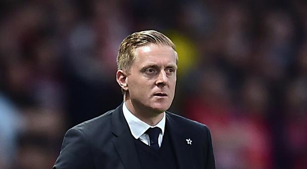 Swansea manager Garry Monk has put an emphasis on continued momentum in Tuesday's Capital One Cup clash against York City