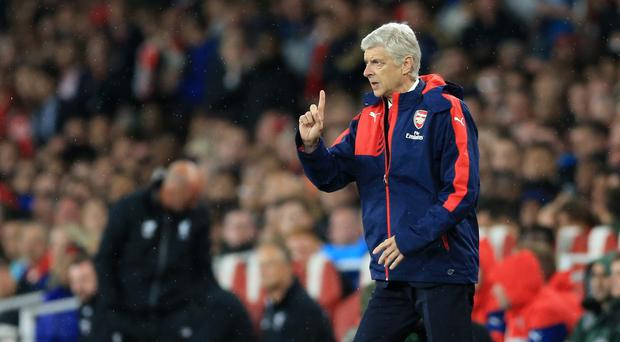 Arsene Wenger has seen his Arsenal side take one point from two home games this season.