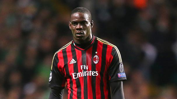 Sour: Mario Balotelli blames Brendan Rodgers for his Anfield failure
