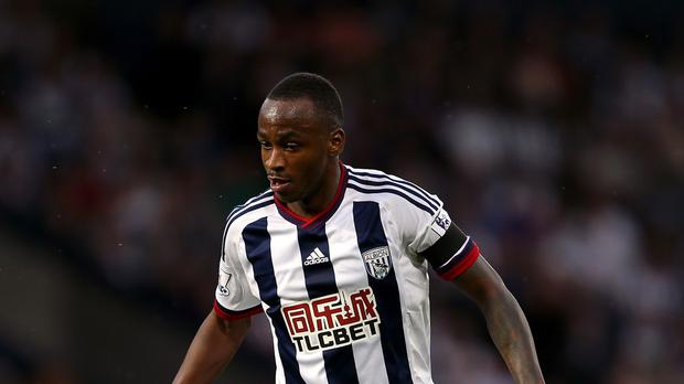 Saido Berahino had his transfer request rejected by West Brom on Monday