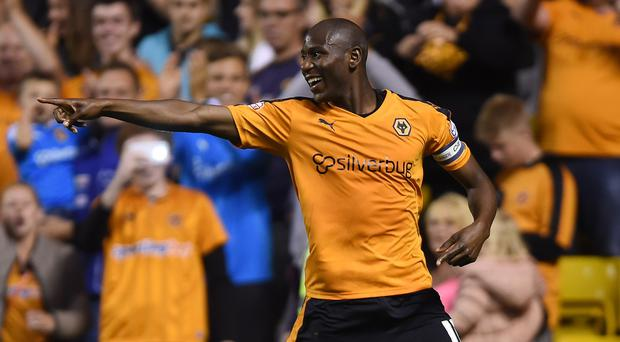 Benik Afobe only joined Wolves from Arsenal in January