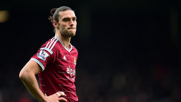 West Ham's Andy Carroll could be closing in on a return to first-team action