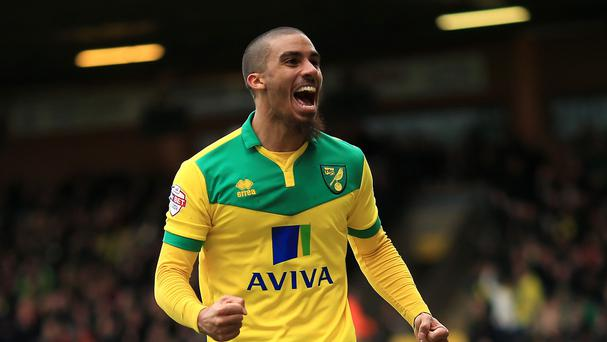 Norwich's Lewis Grabban looks set to be leaving