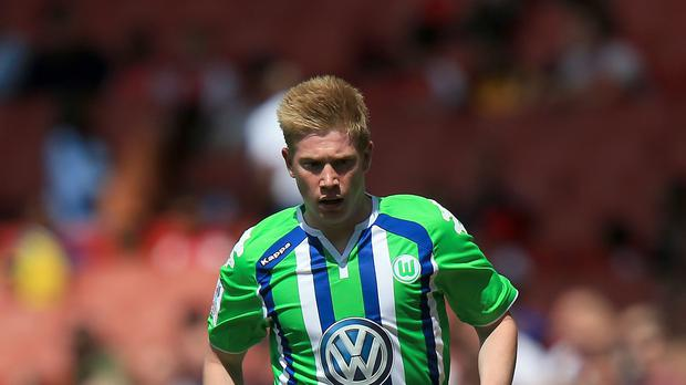Kevin de Bruyne remains a Wolfsburg player for the time being at least