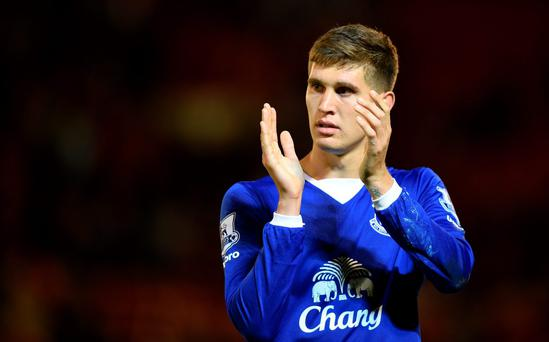 Staying put: Everton won't let John Stones leave the club