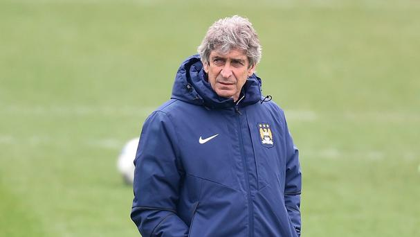 Manchester City manager Manuel Pellegrini accepts there is no excuse for failure
