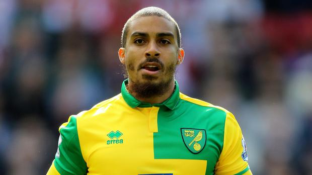 Lewis Grabban faces an uncertain future at Carrow Road
