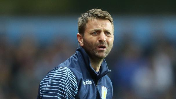 Aston Villa manager Tim Sherwood has a tight hamstring.