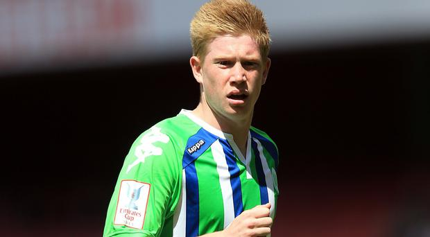 Kevin De Bruyne has joined Manchester City for a club-record fee