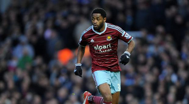 Alex Song is on his way back to West Ham.
