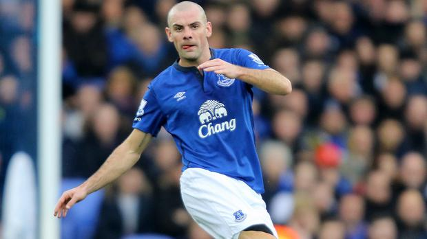 Everton's Darron Gibson pleaded guilty to crashing his sports car into a cyclist while drink-driving
