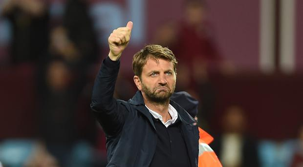 Aston Villa manager Tim Sherwood has made his 11th summer signing with Matija Sarkic