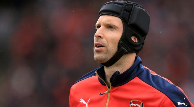 Petr Cech is Arsenal's only signing during the summer transfer window